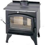 Small Wood Stove w/blower TR001