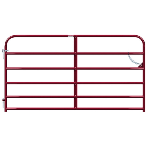 "Gate Pipe 8' 6Bar 50X1-5/8"" Red"