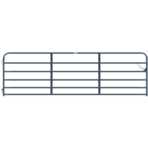 Gate Utility 14' 6 Rail Gray