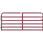 "Gate Cattle 10' 6 Rail 2"" Red"