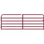 "Gate Cattle 12' 6 Rail 2"" Red"