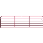 "Gate Pipe 16' 6 Bar 50X1-5/8"" Red"