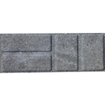 "Block Patio Brickface Natural 8""X16"""
