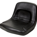Seat Mower High Back Black