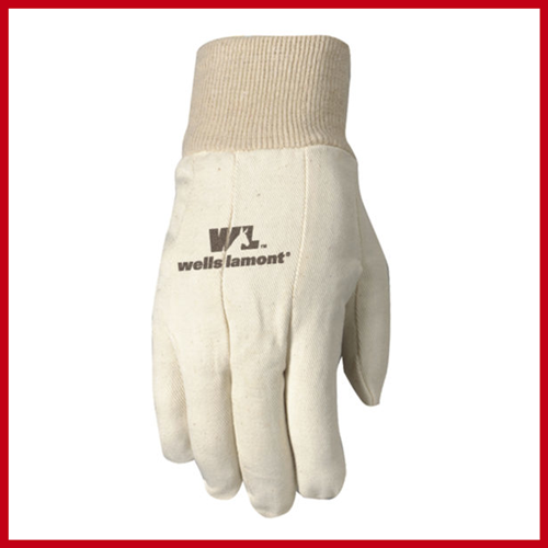 Canvas Poly/Cotton Glove 3pack