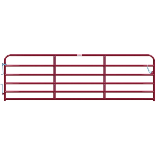 "Gate Cattle 14' 6 Rail 2"" Red"