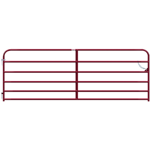 "Gate Pipe 12' 6 Bar 50X1-5/8"" Red"