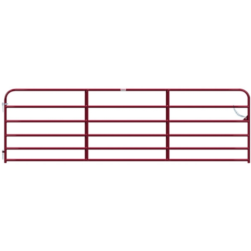 "Gate Pipe 14' 6 Bar 50X1-3/4"" Red"