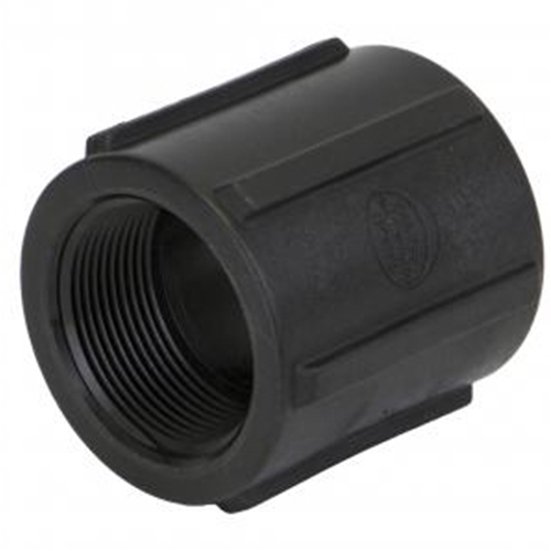 "Coupling 1-1/2"" Pipe Poly"