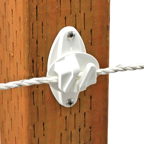 Insulator Wood Post Claw White