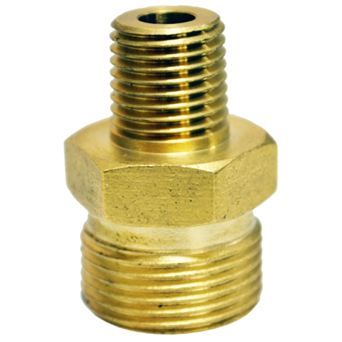 "Nipple Male Screw M22M To 1/4"" M"