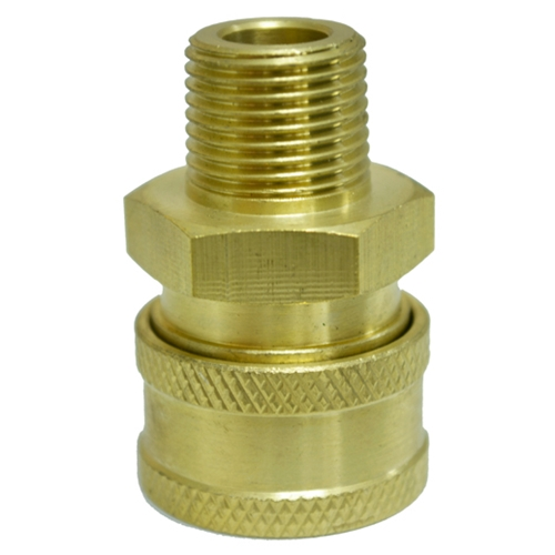 Coupler Quick 3/8 M NPT 4200 PSI