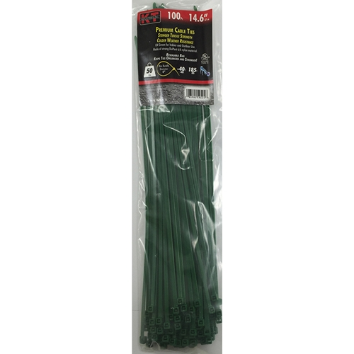 "Tie Cable 14.6"" SD Green"